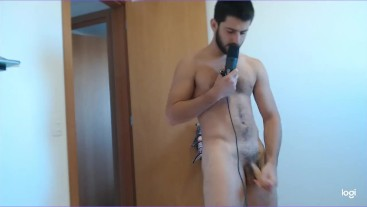 hot straight stud finally allows you to cum masturbate for him JOI encouragement