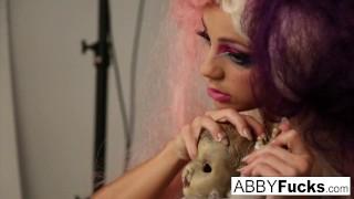 a musical tease of a photo shoot with abigail mac! – teen porn