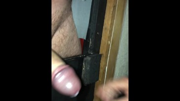 Weeks Gloryholes - Just cumming cocks.
