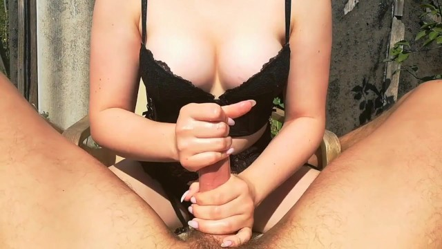 Hand sex, Beautiful work, Cute girl, Love in nature, Pussy 14