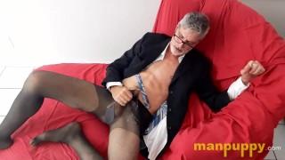 Daddy in Pantyhose JO - Richard Lennox - Manpuppy