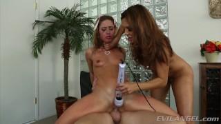 Sheena Shaw Hardcore Anal Threesome with Francesca Le