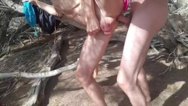 HOT FUCK  at the Dunes of Gran Canaria , Public , Suck , Fuck , Cum , Outdoor ,Huge Dick, Young Guy