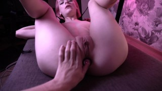 Slave girl dreams of her master's cock and she gets it