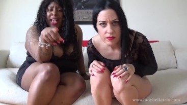 The Smallest Penis We've Ever Seen - with Mistress Esme and Lady Bellatrix Femdom SPH POV