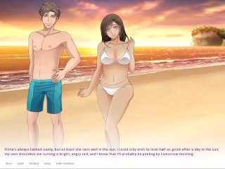 Sharing wifes on public beach ep 14...