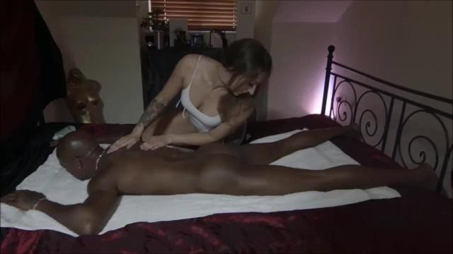 MONSTER BBC Fuck after massage 13