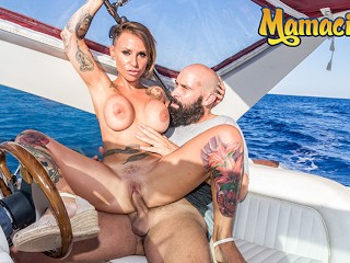 Chicas Loca - Gina Snake Big Tits Inked Spanish MILF Gets Freaky On A Boat