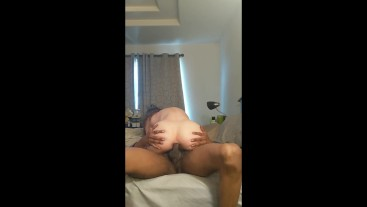 """Jessae Rosae Reverse Cowgirl Pussy/Anal Fuck """"I'll Miss You,"""" Step Bro Rinses Cum Off My Ass W/ Piss"""