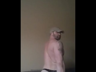 Hot with muscles fucks fat ass with then...