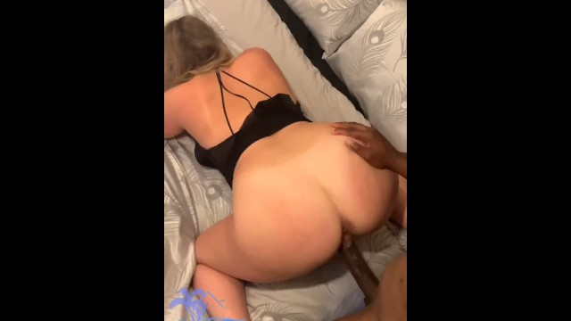 Sex in page az Blonde lets new tinder bbc go bareback while boyfriend watchesfull 30min on fan page, creampie
