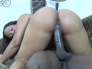 African milf loves the cock...
