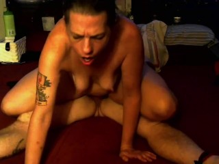 All blindfolded ball licking pussy licking 69 and...