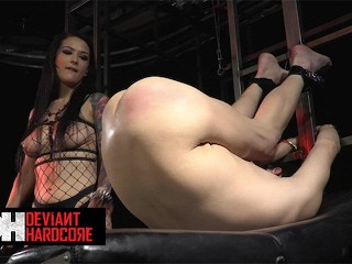 DeviantHardcore – Mistress Katrina Jade Fucks Man Hard With A Big Dildo
