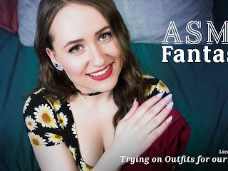 ASMR Fantasy Roleplay - Your Girlfriend Lizzie Love Getting Ready for Your Date