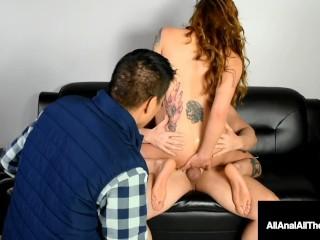 Maria Marley does Cuckold Foot Worship Before Anal Fuck!