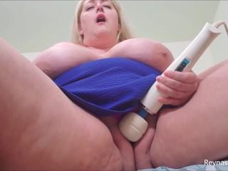 Wet pussy panty play panties fetish masturbation blonde...