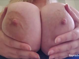 Tits and underboob worship pov milf blonde tit...