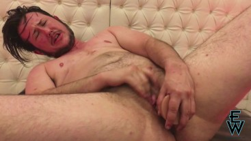 FTM Eddie Wood Takes T Shot and Rides Dildo