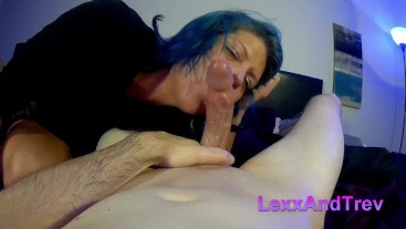 Lexxi Rides a Cock Before Getting a Mouthful of Cum