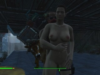 Dressing prostitutes in erotic clothes fallout 4 games...