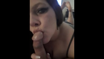 Showing feet sucking dick