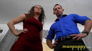 Pervy Giant & Giantess - Terra Mizu - Toby Springs - Manpuppy