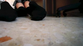 [Trailer] Unware giantess looking for her tiny boyfriend POV [You can buy my full videos!]