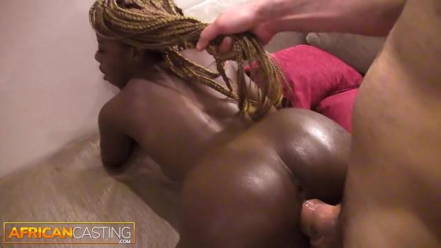 Ghetto Ebony Fucks White Guy