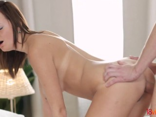 18videoz – Emily Thorne – Moring coffee and ass riding