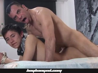 Cute bareback fucked and daddies...
