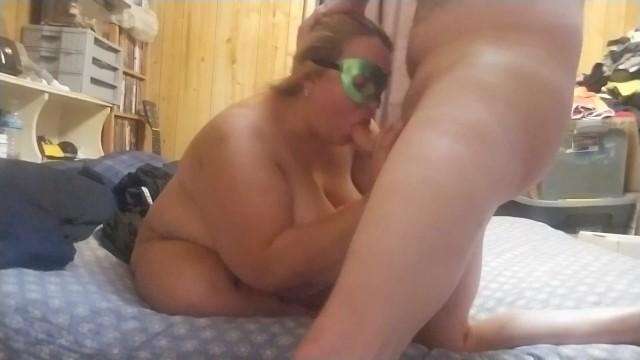 Fucking my bbw wifes pussy doggystyle 9