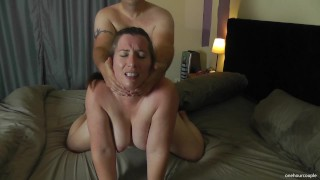 MILF WIFE TALKS ABOUT HER NEXT TINDER DATE BEFORE FUCKING HUBBY! TWICE!