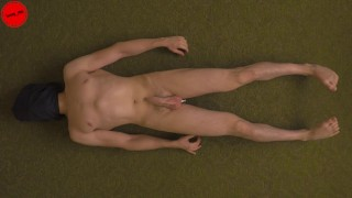 Aneros session - extreme orgasms prostate massage milking (trailer)