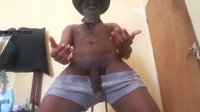 Guy Talking Black Dirty Black man