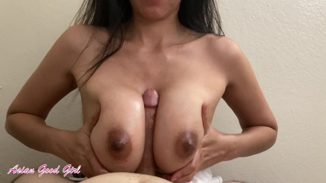 Download 'Thick Asian knows how to titty fuck (look at this huge cumshot)' with PornhubDownloader