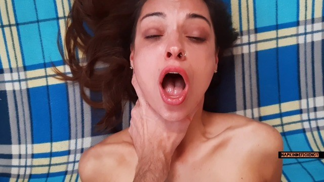 Best deep throat award Fucking my wifes friend hard and cumming deep in the throat while she is in the shower