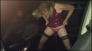 Pissing in McDonalds Car Park with Essex Girl Lisa