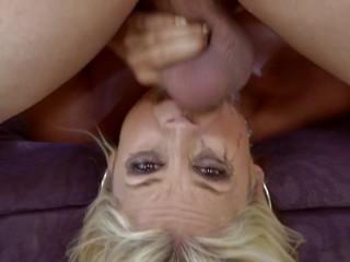 Sarah Vandella Throated Compilation – Rough Blowjobs, Facials & Mouth Fucking