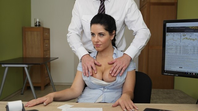 Shooting breast milk Loan4k. big-breasted hottie satisfies man to get necessary money