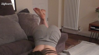 Babysitter cheers you up after your breakup - Countdown to cum - Virtual sex