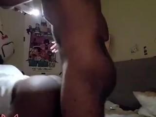 Crip fucking the gay boy in the neighborhood
