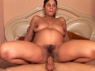 hairy preggo stepsister deep fucked