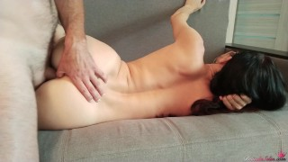 Blowjob and Passionate Sex after Waking Up