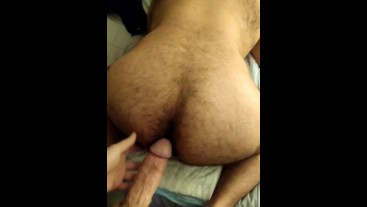 Bear bud taking my BWC balls deep