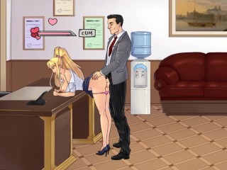 Thelewdknight part 3 first day at work sex...