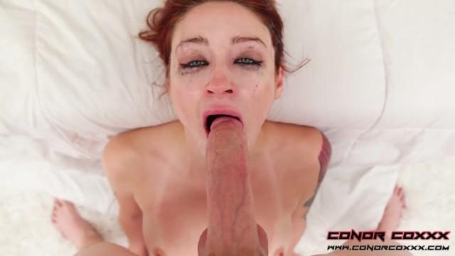 Violet Monroe - Taking It Deep Down My Throat Again! - Hardcore Face Fucking DeepThroat BlowJob 4