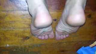 Hot Feet Close Up