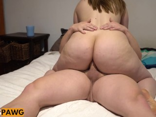 Pawg anal doggy and cowgirl first time anal...