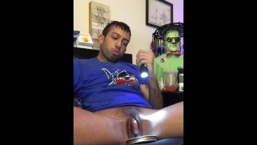Horned Up Squirting Gay Transguy (Re*post 2017' clip when I started Testosterone)